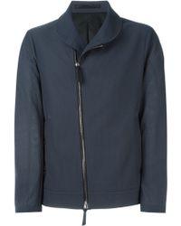 Giorgio Armani | Off-centre Zip Jacket | Lyst