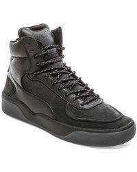 Alexander McQueen x Puma Brace Mid Sneakers black - Lyst