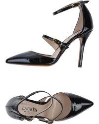 Lauren by Ralph Lauren Ballet Flats - Lyst
