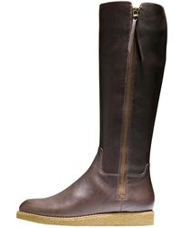 Cole Haan Auden Tall Leather Boot - Lyst