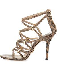 Michael Kors Charlene Strappy Sandal - Lyst