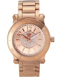 Juicy Couture 1900856 Rose Gold-Tone Watch - Lyst