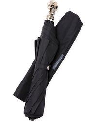 Alexander McQueen Skull Travel Umbrella - Lyst