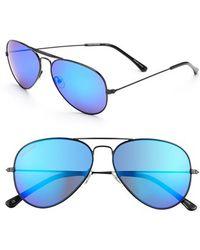 Converse - 58mm Aviator Sunglasses - Lyst