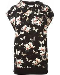 Givenchy Floral Print Sweatshirt - Lyst