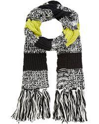 Barneys New York | Chunky Rib-knit Scarf | Lyst