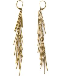 Isabel Marant Fringe Earrings - Lyst