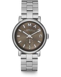 Marc By Marc Jacobs Baker Stainless Steel Bracelet Watch - Lyst