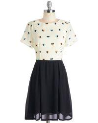 Sugarhill Boutique Ltd. Heart Skips A Pleat Dress - Lyst