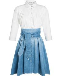 Outsider - Dip Dye Shirt Dress - Lyst
