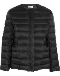 Jil Sander Quilted Shell Down Jacket - Lyst