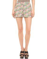 Emma Cook Hawaiian Shorts - Tiger - Lyst