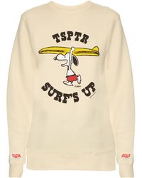 Tsptr - Peanuts© Snoopy-print Sweatshirt - Lyst