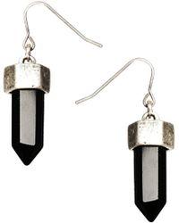 ASOS - Semi Precious Drop Earrings - Lyst