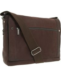 """Kenneth Cole Reaction """"Busi-Mess Essentials"""" - Single Gusset Flapover Messenger Bag - Lyst"""