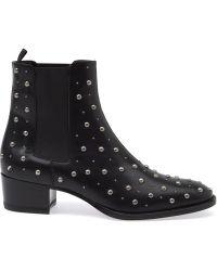 Saint Laurent 'Wyatt' Chelsea Boots - Lyst