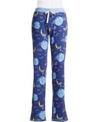Munki Munki Star and Moon Patterned Sleep Pants - Lyst