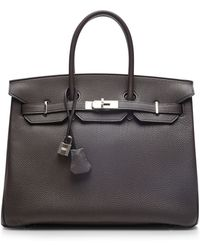 Heritage Auctions Special Collection Hermes 35cm Graphite Togo Birkin - Lyst