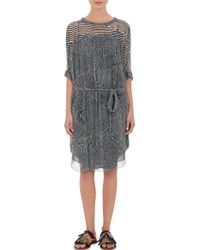 Etoile Isabel Marant Abstract-Stripe Danbury Dress - Lyst
