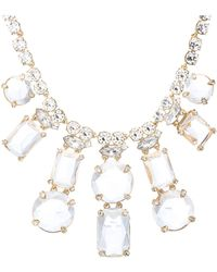 Kate Spade Opening Night Statement Necklace - Lyst