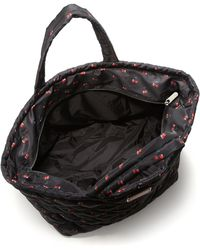Marc By Marc Jacobs | Cherry-print Quilted Textile Weekender | Lyst