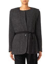 Isabel Marant Flo Herringbone Wool Jacket - Lyst