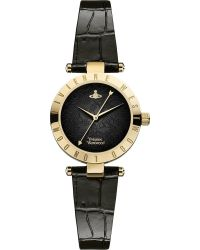 Vivienne Westwood Vv092bkbk Westbourne Ii Gold-plated and Leather Watch - Lyst