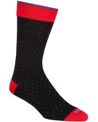 Duchamp - Dotted Socks - Lyst