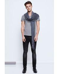 Zadig & Voltaire Monas Mc Men Tunisian T Shirt - Lyst