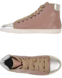 Lanvin High-Tops & Trainers - Lyst