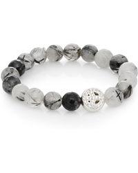 Anzie - Boheme Quartz & Sterling Silver Bracelet - Lyst