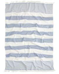 J.Crew Nine Space™ Carmel Beach Towel blue - Lyst