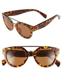 Fantaseyes | 50mm Retro Sunglasses | Lyst
