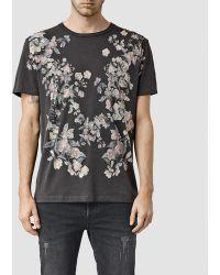 AllSaints | Posie Crew T-shirt | Lyst