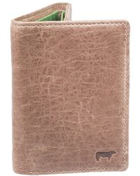 Will Leather Goods - 'twist' Leather Wallet - Metallic - Lyst