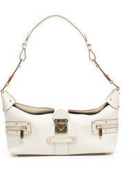 Louis Vuitton Ivory Suhali Limpetueux Bag - Lyst