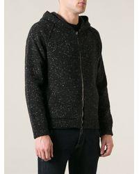Valentino Marled Knit Hoodie - Lyst