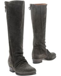 Fiorentini + Baker Gray Boots - Lyst