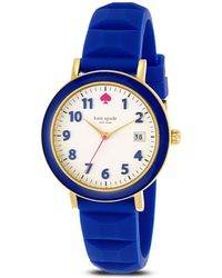 Kate Spade Silicone Metro Watch 36mm - Lyst