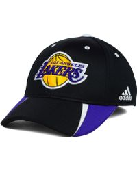 Adidas Los Angeles Lakers Fastbreak Flex Cap - Lyst