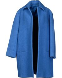Celine Blue Coat - Lyst
