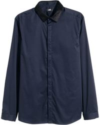 H&M   Shirt Slim Fit   Lyst