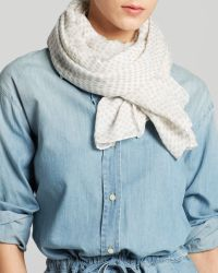 DKNY - Pure Scatter Dot Scarf - Lyst