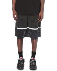 Astrid Andersen - Mesh-panel Jersey Basketball Shorts - Lyst