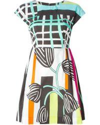 Isola Marras - Graphic Print Dress - Lyst