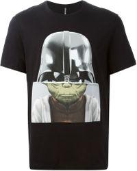 Neil Barrett Darth Yoda T-shirt - Lyst