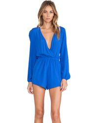 Lovers + Friends Monday To Friday Romper - Lyst