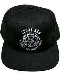 Black Scale The Local 666 Snapback Hat - Lyst