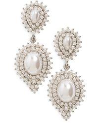 Samantha Wills - 'velvet Nights' Faux-pearl Drop Earrings - Lyst
