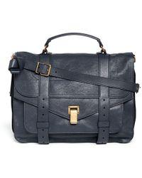Proenza Schouler Ps1 Large Leather Satchel - Lyst